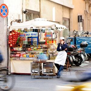 Gente in strada