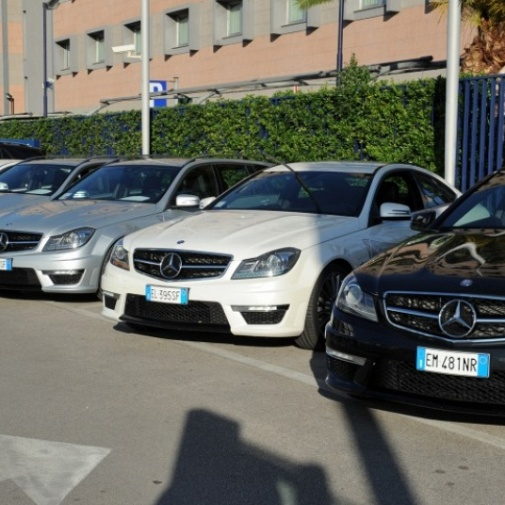 AMG Performance tour 2012