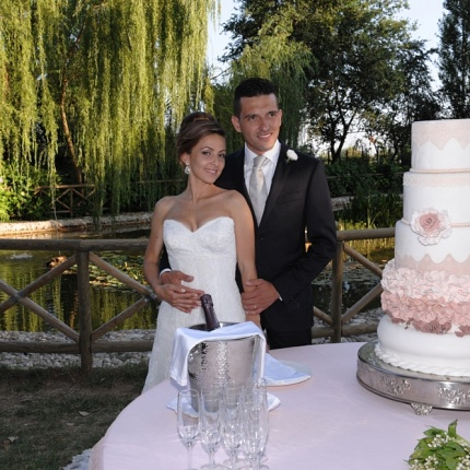 Matrimonio M&A Torta e Disco 6.7.2014
