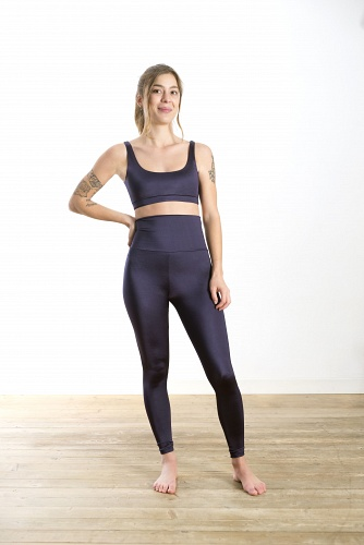 Leggings Attitude Blue Glossy