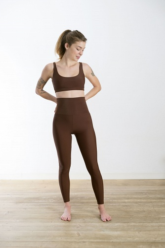 Leggings Attitude Brown Mat