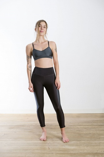 Leggings Spirited Gray/Black