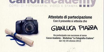 Canon Academy - Action shootings