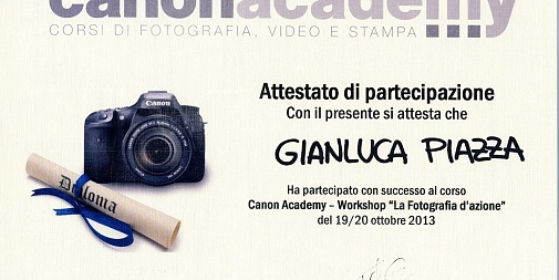 Canon Academy - Action shootings