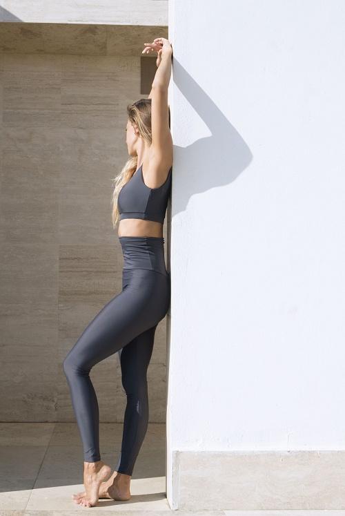 Leggings + Top ATTITUDE Titanium Mat
