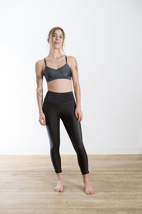Leggings SPIRITED Gray/Black