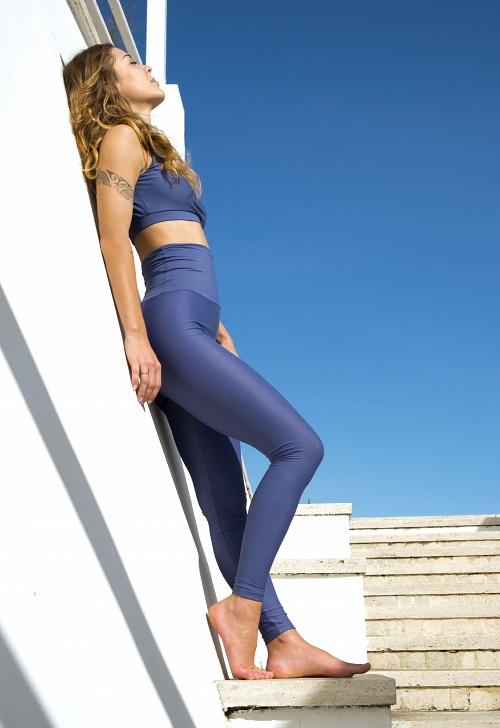 Leggings + Top ATTITUDE Celeste Mat